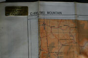 1944 Army Air Force Escape Map - China - Omei Mountain And Wei River The Hump
