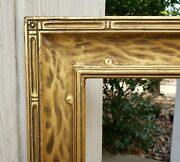 C1930 Foster Bros Newcomb Macklin Hassam Style Arts Crafts Gilded 12 X 20 Frame