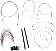 Burly Braided Stainless Steel Cable/brake Line Kit B30-1079