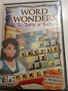 Word Wonders The Tower Of Babel Pc Games Windows 10 8 7 Xp Computer Puzzle