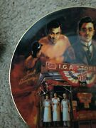 1991 Iga Retailers Collectible Plate Championing The Cause