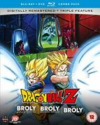Dragon Ball Z Movie Collection Five The Broly Trilogy - Dvd/blu-ray Combo