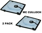 2 Air Filter For Mcculloch 605 610 650 655 690 Chainsaws Pro Mac Timber