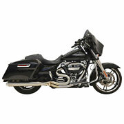 Bassani 1f28ss Long Road Rage Lll Stainless 2-into-1 Exhaust
