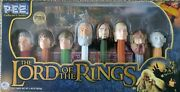 Pez Lord Of The Rings Collectors Series Set Limited Edition 126369 Of 250000
