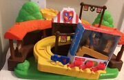 2012 Fisher Price Little People Mike The Knight Klip Klop Arena Playset
