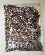 Bumper Packet Of Fine Red-pink-purple-silver Party Table Confetti 56 Gm