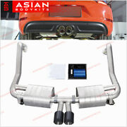 Valved Exhaust Catback For Porsche 718 Boxster 982 Cayman 2017+ 2.0t And 2.5t