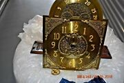 Charles Sligh Grandfather Clock Movement With Dial Fully Working