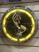 Kobe Bryant Yellow Neon Wall Clock Car Truck Automotive Sign