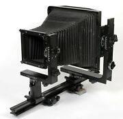 Horseman Le 8x10 Monorail Camera With Upgraded Fresnel Lens Ground Glass