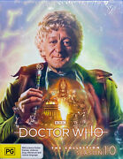 Doctor Who Classic Collection Series Season 10 Bluray Sealed Jon Pertwee Not Dvd