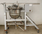 Lee Industries Metal Products 10 Gallon Stainless Pressure Kettle On Stand
