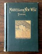 Original 1893 Old West Guide Indians Cowboys Pacific Railroad Gold Mining Rare