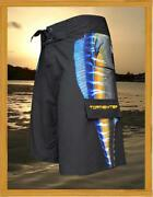 Tormenter Menand039s Side To Ono Wahoo 4x4 8 Way Stretch Board Shorts