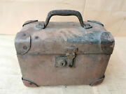 Old Antique Primitive First Aid Apothecary Box Chest Strong Cardboard Military