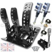 Fits Ford Fiesta Mk1-2-3 Floor Mounted Cable Pedal Box Kit Andndash Sportline 3-pedal