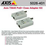 Axis T8640 Ethernet Over Coax Adaptor Poe+ - Media Converter