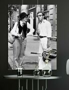 Art Print Poster /canvas Diane Keaton And Woody Allen In Annie Hall