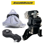 Engine Motor And Trans Mount Set 3pcs. 2012-2013 For Honda Civic 1.8l For Auto.