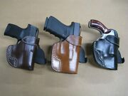 Azula Gun Holsters Premium Molded Leather Paddle Holster Ccw Choose Gun - 4