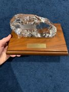 Personally Owned Ernie Stautner 1973 Pro Bowl Award Pittsburgh Steelers