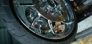 Harley Davidson Chrome Wheels 16 Rear 19front With Tires And Rotors.