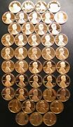 19682021 S Lincoln Penny Choice Gem Proof Run 57 Coin Decade Set Us Mint Lot