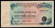 Vietnam Payment Check 1000000 Dong 1997 Fake Old