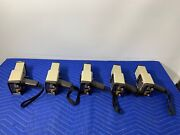 Lot Of 5 Keithley 36100 And 36150 Radiation Detector Survey Meter Geiger