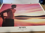 1999 Bruce Weber Abercrombie And Fitch Calendar 24x32 Rare Original Box Low211