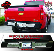 Chevy Bumper 2007-current Rear Large Bow Tie Bumper For Chevy Full Size Trucks B