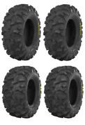 Complete Set Of Itp Blackwater Evolution Tires - 2017 Can-am Maverick X3 X Rs