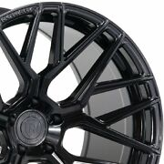 4 20 Staggered Rohana Rfx10 20x9 20x12 Black Concave Wheels Forged Rims A3