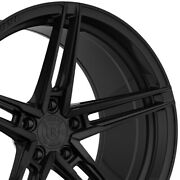 4 20 Staggered Rohana Rfx15 20x10 20x11 Black Concave Wheels Forged Rims A3