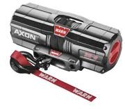 Warn Axon 3500lb Winch With Syn Rope And Mount - 2014-2018 Polaris Sports 570 Efi