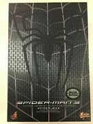 Hot Toys Mms 165 Spiderman Spider-man 3 Black Suit Version Special Ver New