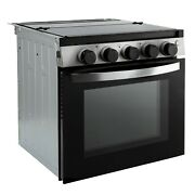 Rv Stove Gas Range 21 Tall Optional Vented Range Hood Black Or Silver