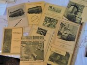 Vintage Group 11 Annual Reports 5th Avenue Coach Co Bus New York City Nyc Fifth