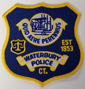 Waterbury Connecticut Ct Cloth Patch