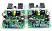 Hifi Mosfet 2.0 Channel Power Amplifier Board Stereo Audio Amp Audiophile Diy