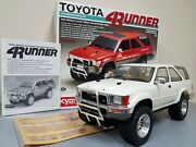 Rare Vintage Built Kyosho 1/9 R/c Toyota 4runner Electric Power Truck With Box