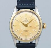 Tudor Oyster Small Rose 7909 Automatic Vintage Watch 1950and039s