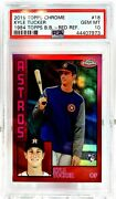 2019 Topps Chrome Kyle Tucker Rc Red Refractor 1984 Rookie Card Psa 10 'd /5