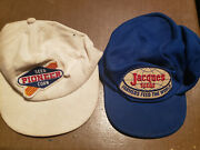 Vintage Jacques Seeds, Pioneer Seed Corn Patch Trucker Farmer Hat Cap