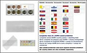 1000 Look 1-k7es-zyp Coin Pockets Cases Euro-course-coins-sets + Cyprus Flags