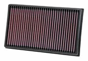 Kandn 33-3005 For Audi A1 Gb Washable Reusable High Flow Drop In Panel Air Filter