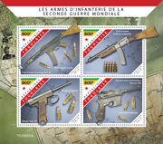 Togo Military And War Stamps 2019 Mnh Wwii Ww2 Infantry Weapons Mauser 4v M/s