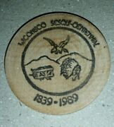 Wooden Nickel Wiconisco Township Dauphin County Pa. 1989 Sesquicentennial