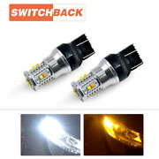 Switchback Led Turn Signal Lights For Nissan Altima 2014-2019 Frontier 2009-2019
